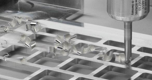 Copeaux de métal réguliers